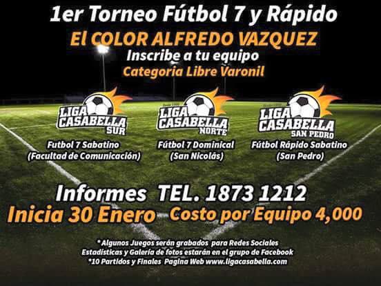 Torneo «El Color Alfredo Vázquez»
