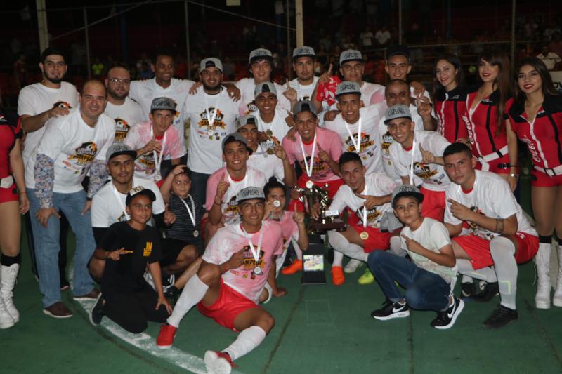 CasaBella FC Campeón de la Liga Nacional de Futbol Rápido