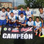 INEGI campeón del torneo DE 6 A 7 de la Liga Casa Bella de fútbol 7