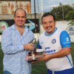 Roberto Bazaldúa campeón goleador del torneo con 35 goles