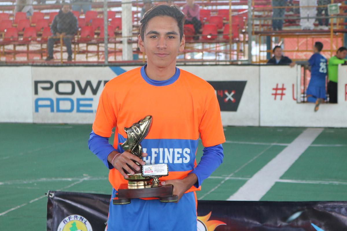 Pescan «Los Chidos» campeonato juvenil de Futbol Rápido