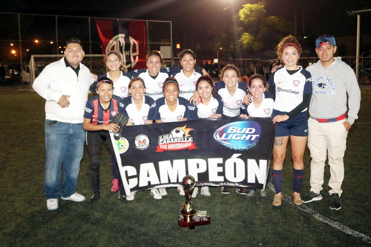 San Lorenzo, benditas campeonas en Casa Bella