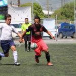 ACCIONES WARRIORS (BLANCO) vs LOS MORALES (ROSA Y NEGRO) EN FINAL DE LIGA SABATINO FUT 7