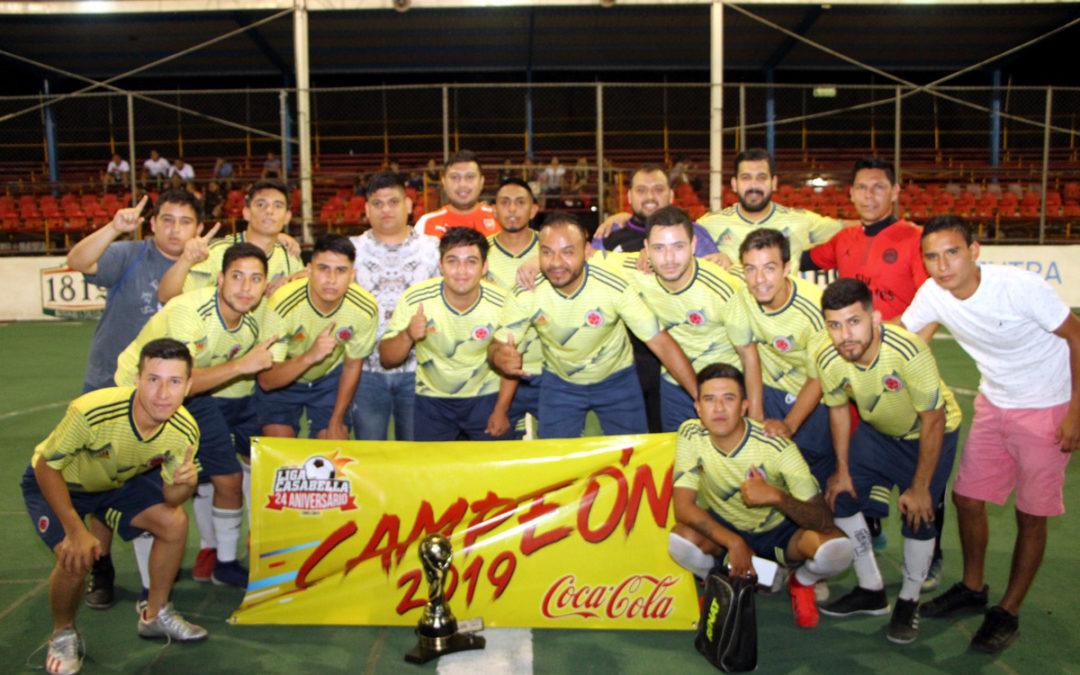 Es Namahu nuevo monarca del Futbol Rápido Regional