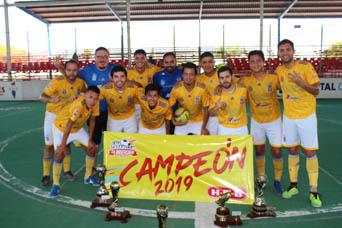 Los Tigres «amarran al perro» y se coronan en Futbol Rápido