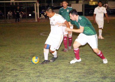 aaciones MEXICO (verde) vs SINSA final LIGA LUNES