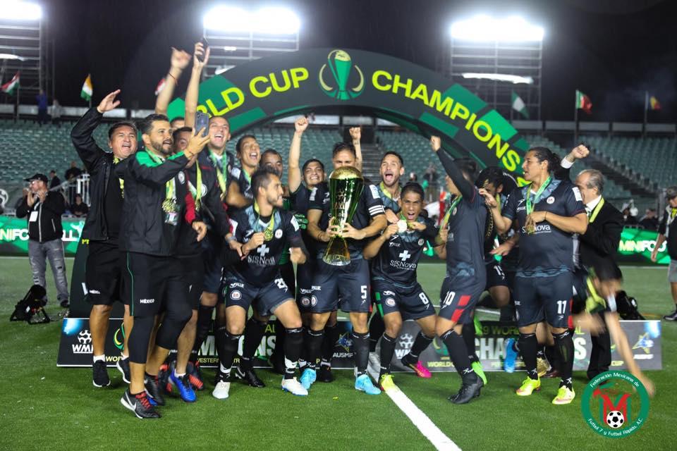 México es Campeón Mundial de Minifutbol