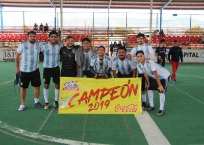 ARGENTINA campeón del torneo de Copa de Fútbol Rápido Sabatino.