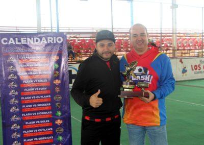 alexis delgado campeon goleador del torneo