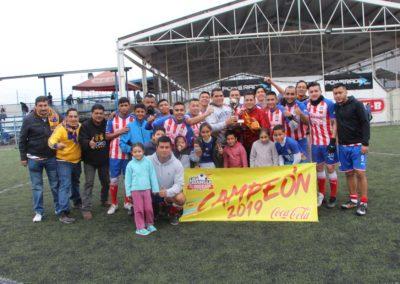 DOBLADO FC campión de LIGA
