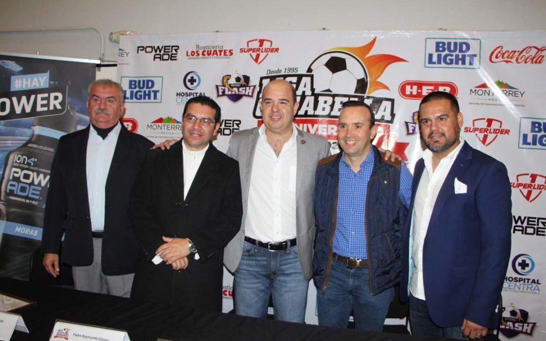 Celebra Liga Casa Bella 25 años de fomentar el Futbol Rápido