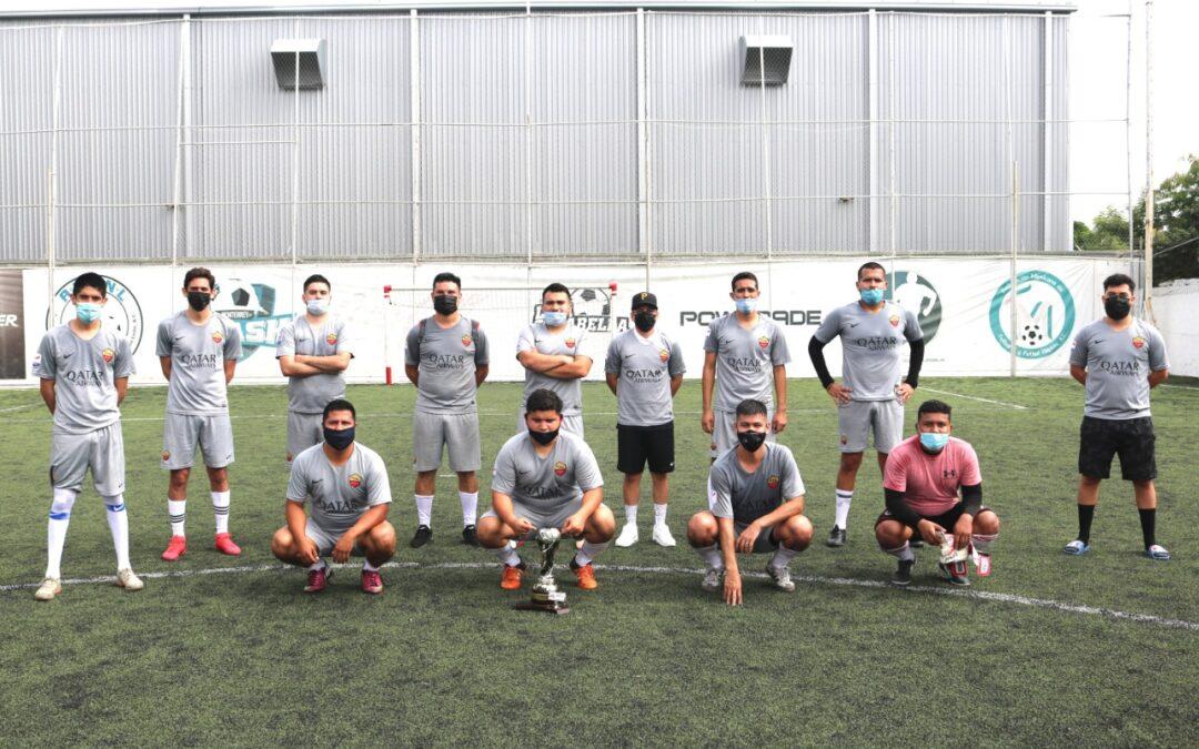 Fraccelona impone su jerarquía y se  lleva el título del Futbol 7 Dominical