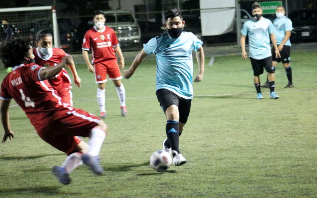 Semana de campeones en el Futbol 7 nocturno