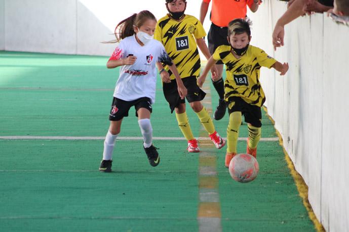 Intensas y furiosas las finales infantiles – juveniles  de futbol rápido en la Liga CasaBella